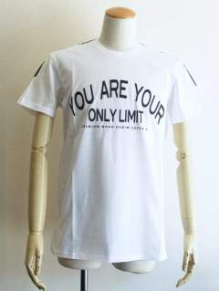 ONLY LIMIT ロゴ プリント Tシャツ (WHITE)